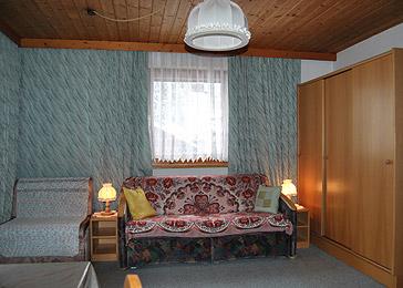 Ferienwohnung Wohnschlafraum